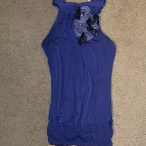 Dressy high neck halter